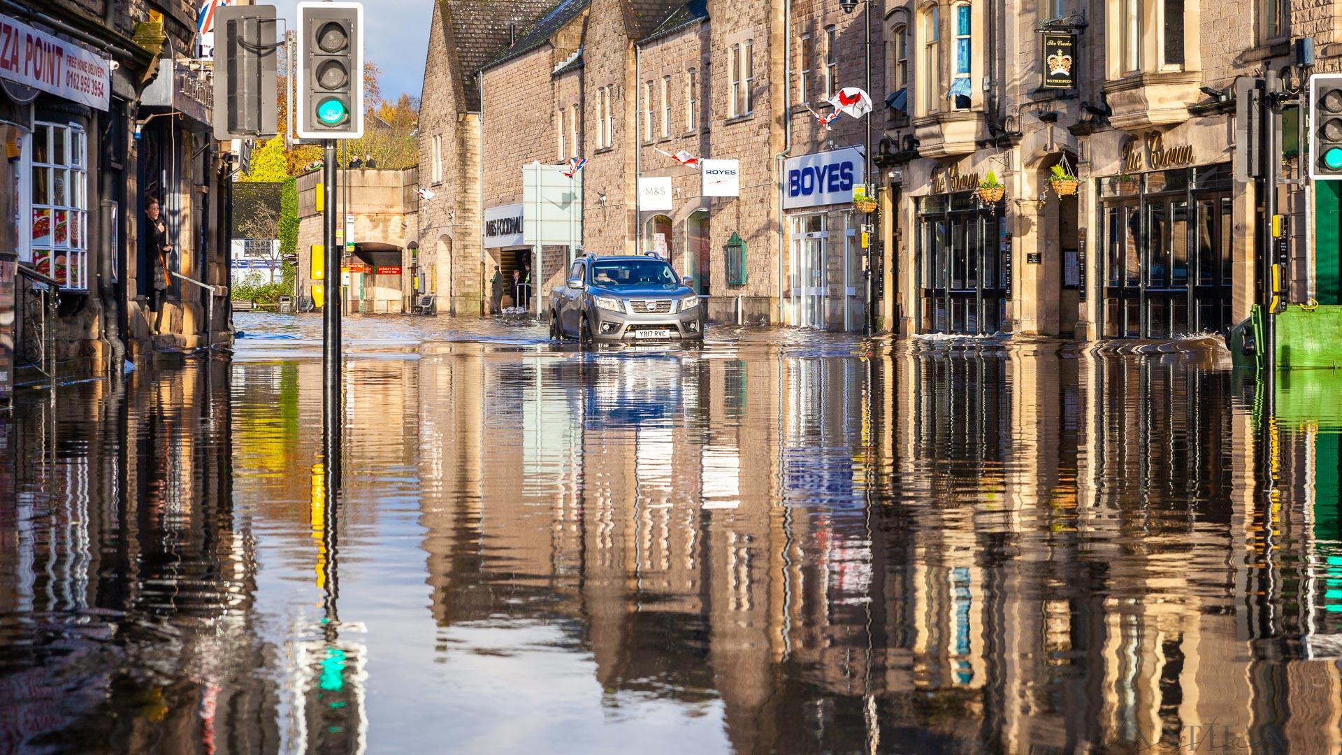 Jonathan Christian Photography Matlock Derbyshire Flooding
